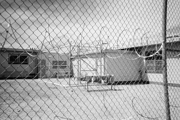 Gefängnis in El Paso, Texas, USA
