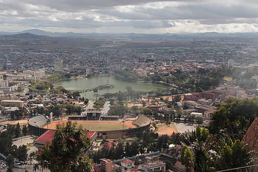 Blick auf Madagaskars Hauptstadt Antananarivo, © Rupert Haag