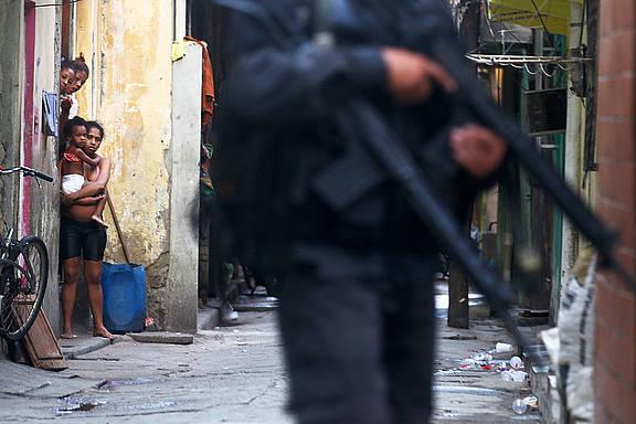 Favelas von Rio de Janeiro