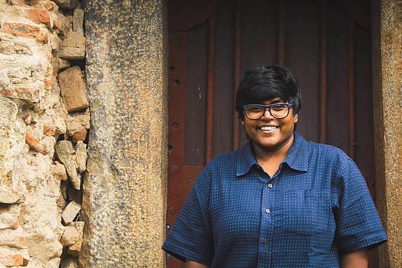 Alina Maria Tiphagne, indische LGBT-Aktivistin und Fotografin