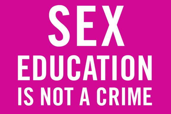 Sexualkunde ist kein Verbrechen