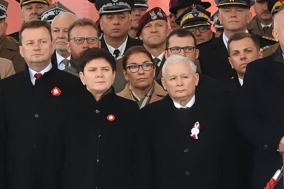 Mitglieder der Regierungspartei PIS