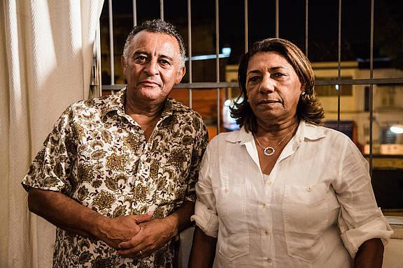 Marinete da Silva und Antonio Francisco da Silva Neto, Marielle Francos Eltern