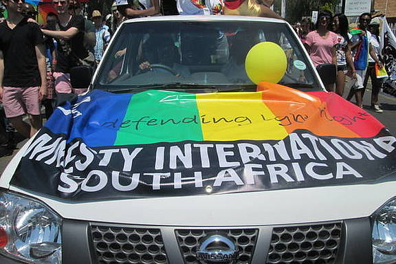 Johannesburg Pride, Südafrika 2012, © Amnesty International