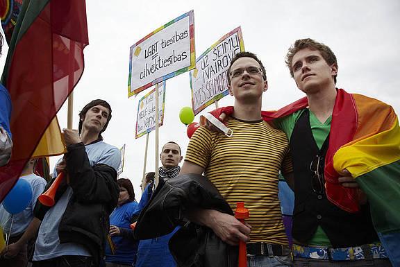 Baltic Pride 2010 - Vilnius, Litauen