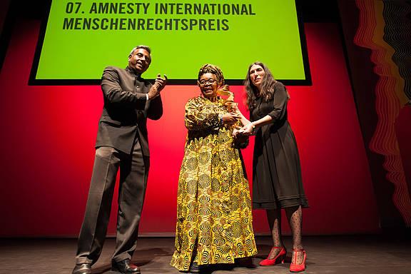 Amnesty-Menschenrechtspreisträgerin Alice Nkom aus Kamerun