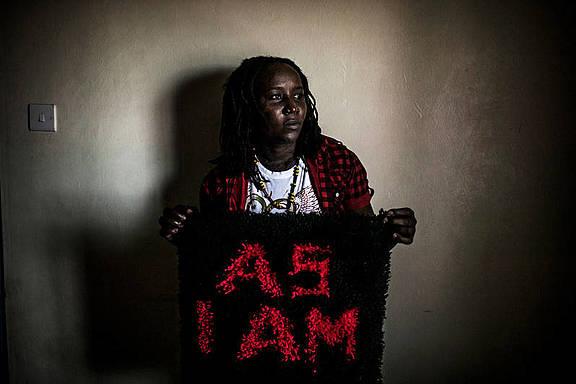 Mary, eine offen lesbisch lebende Kenianerin