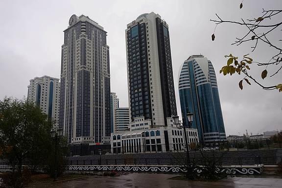 Schöne neue Welt in Grozny, Hauptstadt der Russischen Teilrepublik Tschetschenien