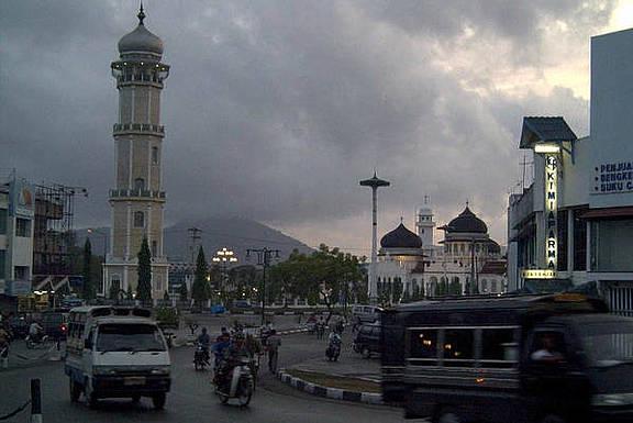 Banda Aceh Stadt, Indonesien