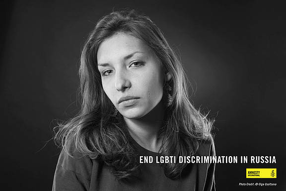 Evdokia Romanova, LGBT-Aktivistin aus Samara in Russland