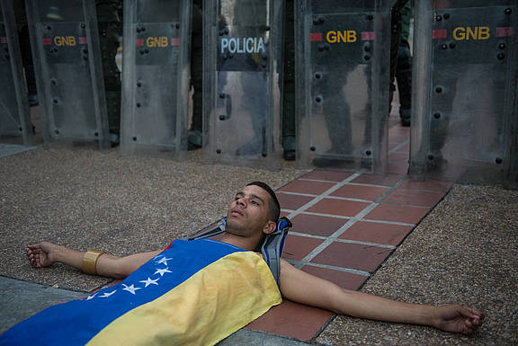 Menschenrechte in Gefahr in Venezuela