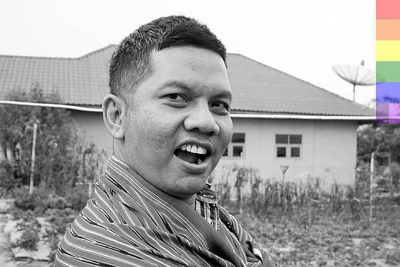 """Hartoyo, indonesischer LGBTI-Aktivist aus der Provinz Aceh, gründete die Organisation """"Suara Kita"""" (Unsere Stimme)"""
