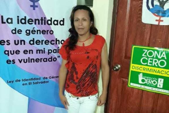 Alejandra, Aktivist_in für die Menschenrechte von Trans-Menschen in El Salvador
