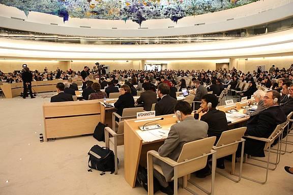 UPR-Sitzung beim UN-Menschenrechtsrat in Genf