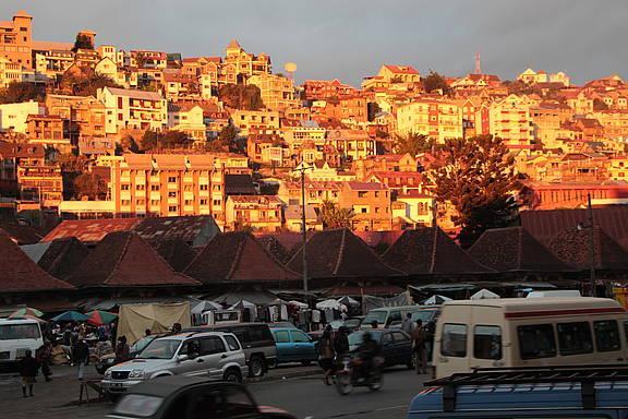Altstadt von Madagaskars Hauptstadt Antananarivo, © Rupert Haag