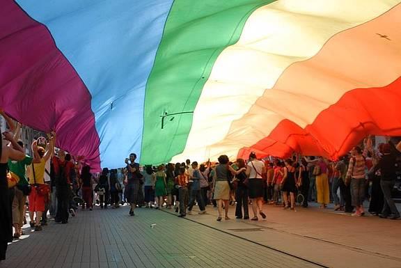 LGBT Pride Parade in Istanbul, 29 Juni 2008