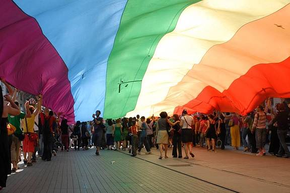 LGBT Pride Parade in Istanbul