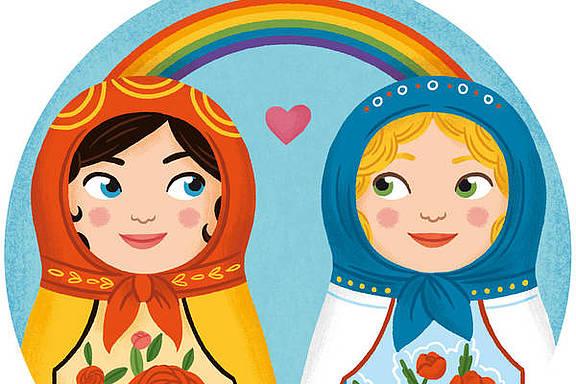 Künstler_innen für LGBTI-Rechte in Russland