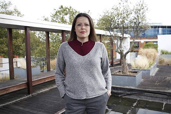 Intersex-Aktivist*in Kitty Anderson aus Island