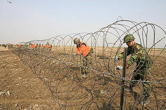 Angehörige des südkoreanischen Militärs