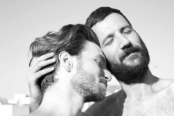 Schwules zypriotisches Paar