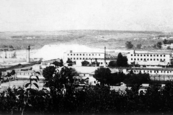 Historische Aufnahme der Region Chernivtsi aus dem Jahr 1979