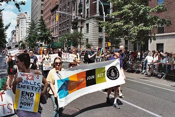 Pride-Marsch in New York 2004