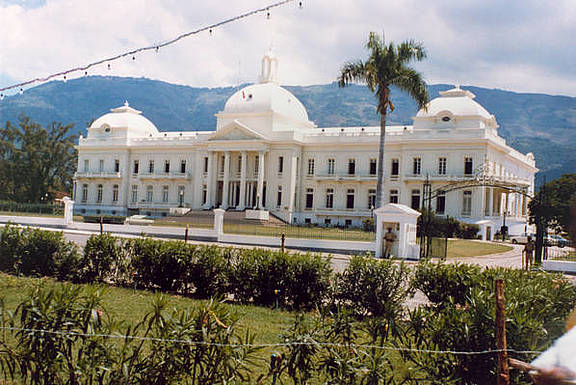 Nationalpalast in Port-au-Prince, Haiti