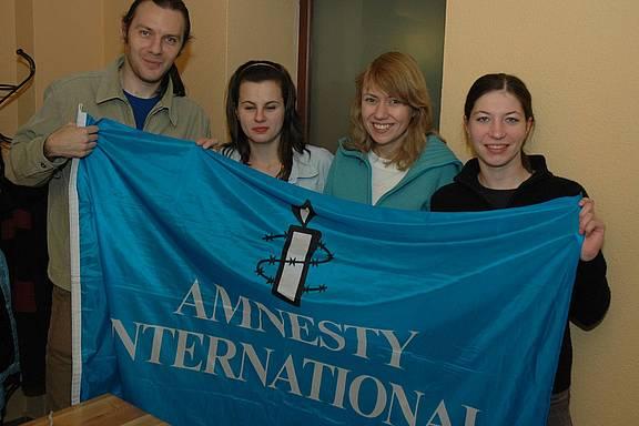 Mitglieder von Amnesty International Bialystok