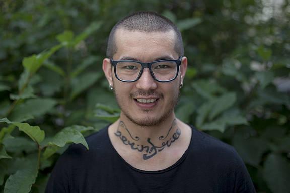 Der Aktivist und Journalist Ali Feruz