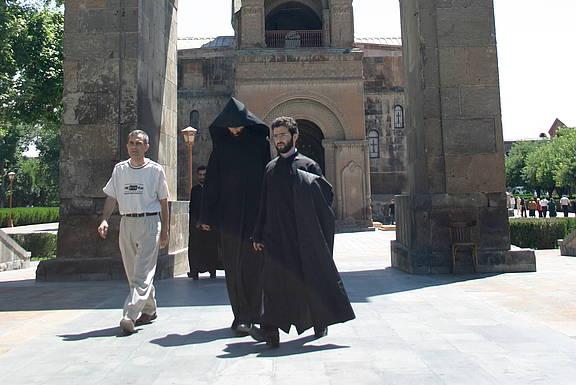 Vertreter des Klerus in der armenisch-orthodoxen Kirche