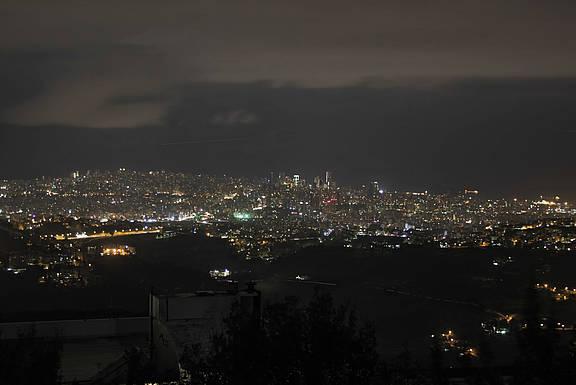 Beirut bei Nacht