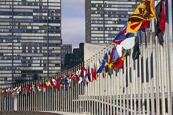 Hauptsitz der Vereinten Nationen